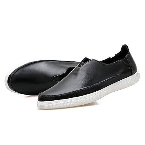 Miyoopark ,  Herren Sneaker Low-Tops Style1-Black