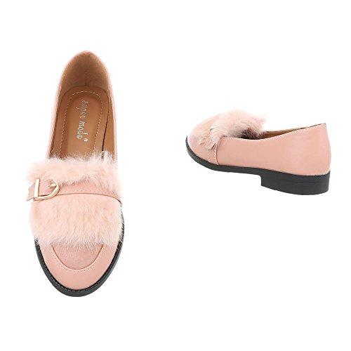 Sneakers rosa antico per bambina Ital Design sGl4l