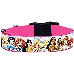 Princesas Disney Princess A Collar Perro Hecho a Mano Talla L con Correa a juego de 120 cm Dog Collar HandMade