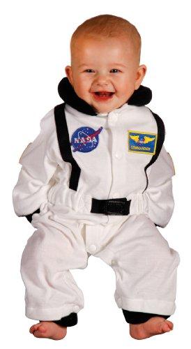 Kostüm Nasa Baby - Aeromax Jr.Kostüm, mit NASA-Aufnäher und Druckknöpfen für Windelzugriff.