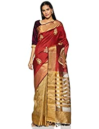 02406c0736e68c Aalia Art Silk with Blouse Piece Saree
