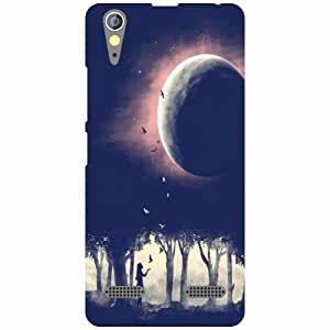 Lenovo A6000Under Wate Back Cover - Matte Finish Phone Cover