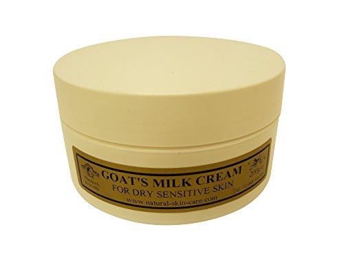 Ziegenmilch Feuchtigkeitscreme 200 g für Psoriasis Ekzem Trockene Haut Dermatitis Rosacea empfindliche Haut. Hergestellt in Großbritannien...