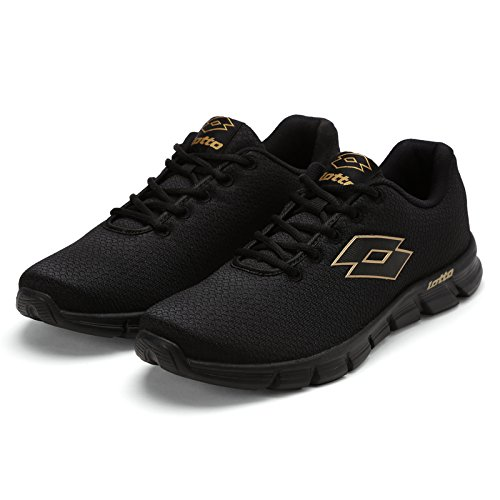 Lotto Men's Vertigo Black Running Shoes - 7 UK/India (41 EU)