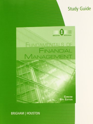 Eugene Brigham Financial Management Pdf