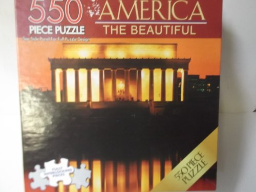 America the Beautiful 550 Piece Abraham Lincoln Memorial Puzzle by America The Beautiful