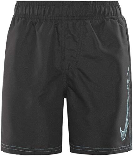 Nike Swim Big Swoosh Logo Volley Shorts Boys 4