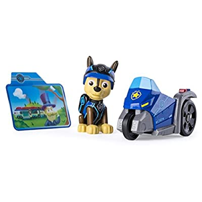 Paw Patrol Mission Paw - Chase's Three Wheeler - Figure and Vehicle de Spin Master