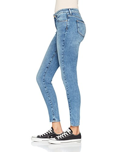 Wrangler Damen Jeans Skinny Blau (Best Blue 94O)
