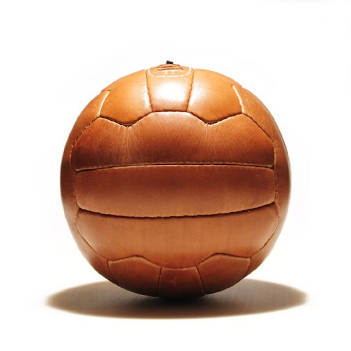 Fußball Retro - ECHTLEDERBALL -