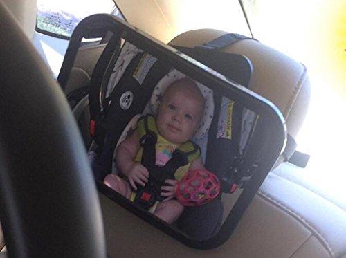 Baby-Rückspiegel 360 Grad einstellbare Rückansicht Baby Auto Endoscope Auto Baby-Ansicht-Spiegel