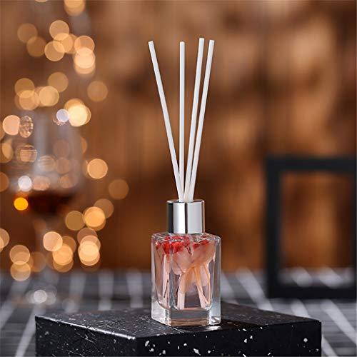 TianranRT❄ Aromatherapie-Diffusor,Cane-Öl-Diffusoren Mit Natürlichen Stiften,Glasflasche Und Parfümiertem Öl 50Ml Schönes Aussehen Hauptdekoration,G