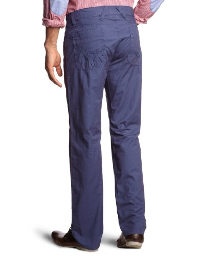 LERROS , Straight fit (coupe droite), homme Pantalon Blau (DARK NAVY 487)