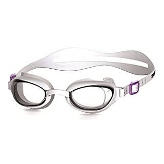 Speedo Women's Aquapure Goggles, White/Clear, One Size