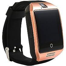 ZOMTOP Q18 smart telecamera Bluetooth Telecamera SIM TF Smartwatch per Android Samsung LG Google Pixel e iPhone 7 7Plus 6 6s 6s Plus (Oro)