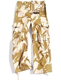 Boys 11-12 years Desert Camouflage Combat Cargo Trousers