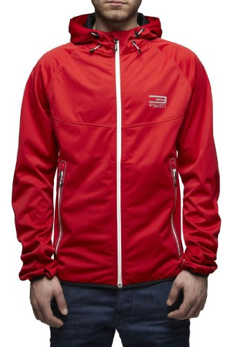 Jack & Jones Premium Tech - Force Herren Softshell Funktionsjacke Windjacke Regenjacke Formula One