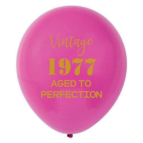 uftballons-30,5cm (16) Frauen Gold 41th Geburtstag Party Dekorationen oder Supplies ()