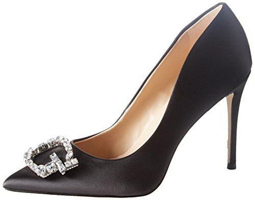 Guess Footwear Dress Decollete, Zapatos de Tacn con Punta Cerrada para Mujer, Negro (Black Black),