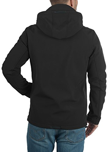 INDICODE Deegan - veste softshell - Homme Black (999)
