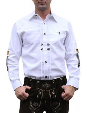 Trachtenhemd für Trachten Lederh