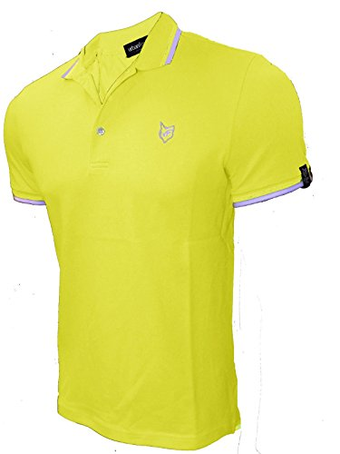 Urban Fox Herren Poloshirt - Vegas Lemon
