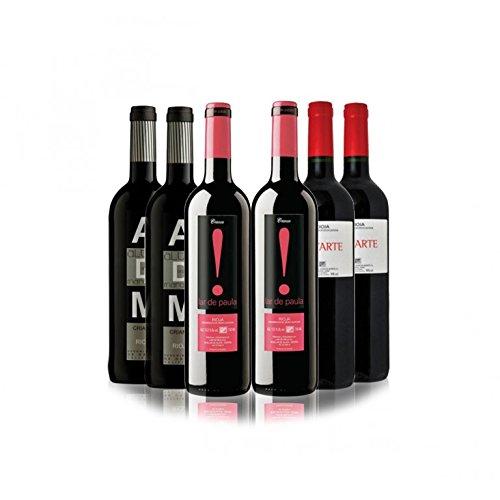 San Jamón Lote Crianza Rioja - Paquete De 6 X 750 Ml - Total: 4500 Ml