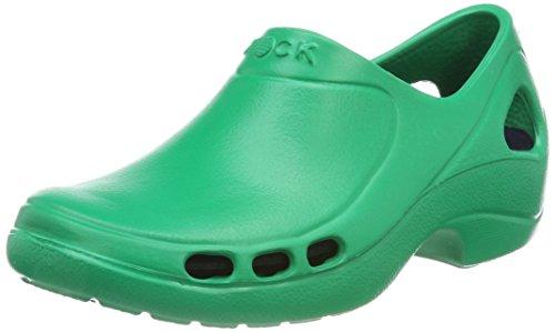 WOCK Everlite, Zuecos Unisex Adulto, Verde (Grün 4540060-38), 38 EU