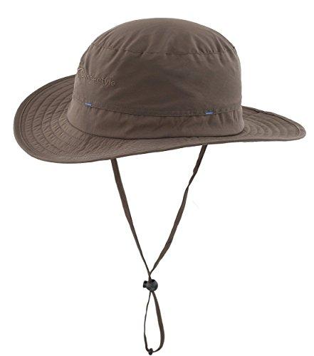Magracy Männer Outdoor Sonnenhut Sommer Breite Krempe Eimer Hut Fischerhut Anglerhut Atmu