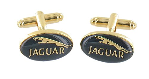 cool-mens-novelty-design-gold-and-green-jaguar-car-logo-badge-cufflinks-with-luxury-gift-box