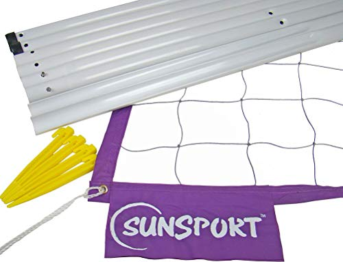 SunSport Kit - Juego de postes para voleibol ( playa )