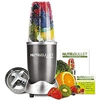 NutriBullet 600 Series Blender, 600 W, Starter Kit, 5-Piece Set, Graphite