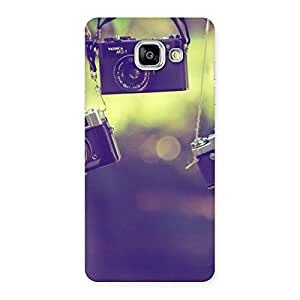 Neo World Vintage Hanging Camers Back Case Cover for Galaxy A5 2016