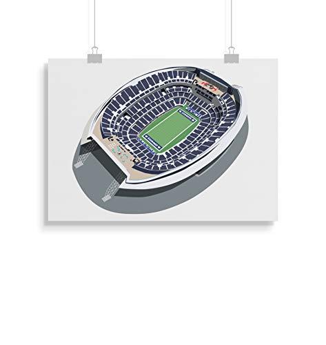 on inspirierte Poster - Zitat - Alternative Sport/Amerikanischer Fußball Prints in verschiedenen Größen (Rahmen nicht im Lieferumfang enthalten) ()
