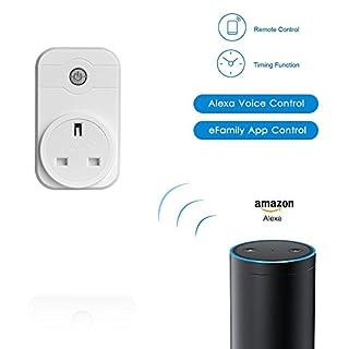 Smart Plug, angeer Smart Wifi Steckdose Stimme Control von Amazon Alexa Echo, Google Home Assistant (2Stück)