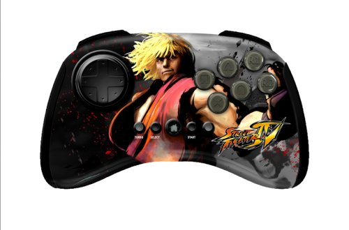 Mad Catz Street Fighter IV Fightpad Wireless Ken Manette Console Compatible:Sony Playstation 3