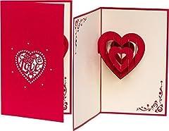 Idea Regalo - Biglietto di nozze biglietto di San Valentino