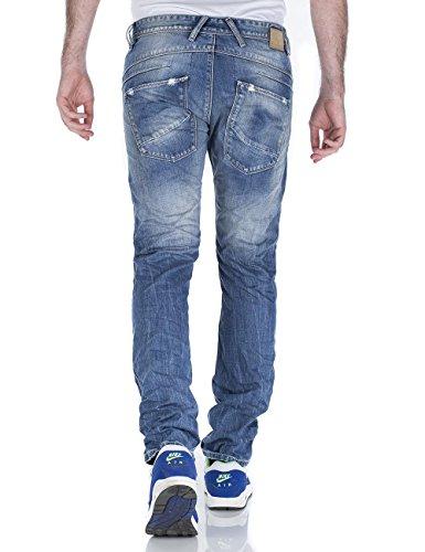M.O.D Leo Slim Fit - Jeans - Slim - Homme Bleu (freeport Blue Dst. 1313)