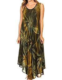 Sakkas Starlight Caftan Tank Dress / Cover Up