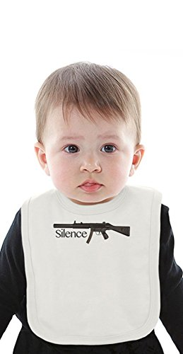 Silence Organic Bib With Ties Medium -