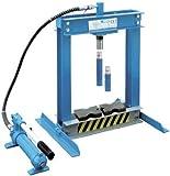 Pressa per cuscinetti manuale idraulica da banco 4 Ton. Fervi articolo P001/4