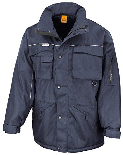RT72 Workguard Heavy Duty Combo Coat Jacke Arbeitsjacke Winterjacke winddicht M,Navy-Navy