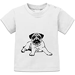 Camiseta de bebé Pugs Dog by Shirtcity