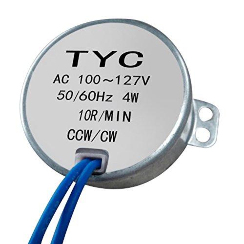 SM SunniMix TYC-50 AC Motor Síncrono 110-127v 10rpm 4w 4kgf.cm Par CCW/CW