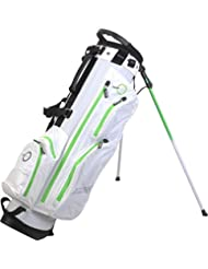 Spalding Sac de golf trépied imperméable-Blanc/Vert - 19 cm
