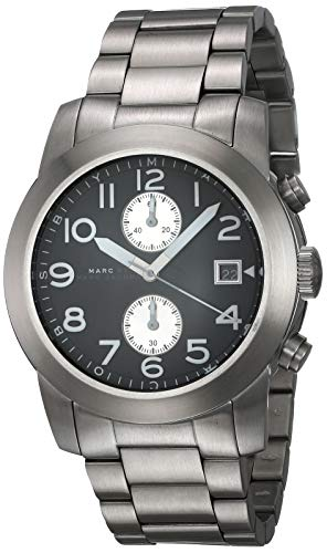 Marc Jacobs MBM5050Stainless Steel Watch for Men, Strap–Silver