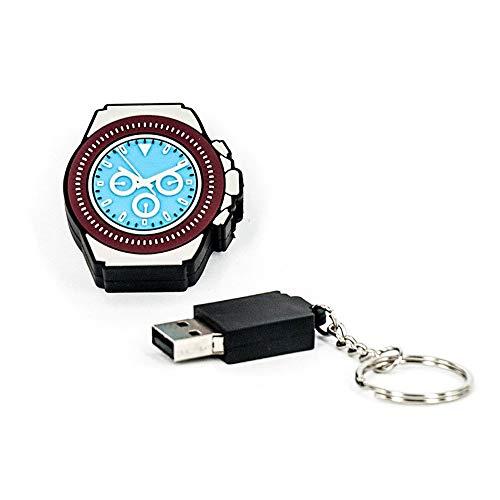 R.L.X. MINI USB UHR WATCH 8GB DAYTONA PLATIN GADGET GESCHENK TIPP NEUHEIT