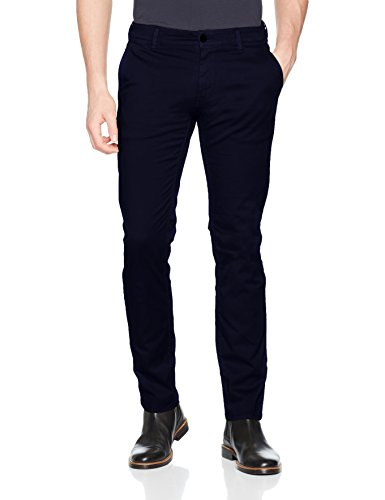BOSS ORANGE Chino-Hose Schino-Slim D für Herren, 50379152 Blau (Dark Blue 402)