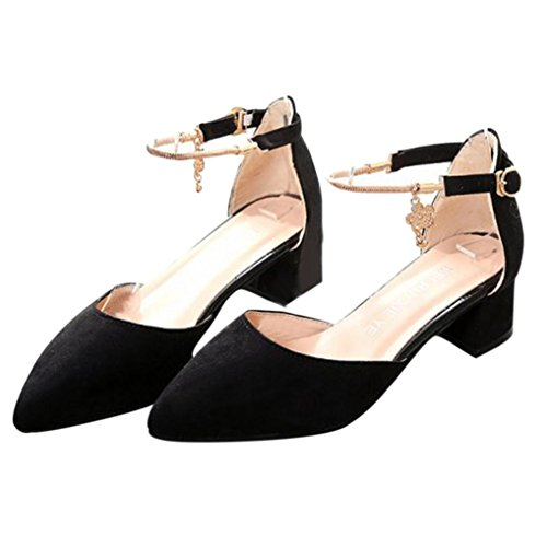 Saingace High Heels Schuhe Hochzeit Schuhe Sommer Sandalen Schuhe Plattform Keil Schuhe Schwarz