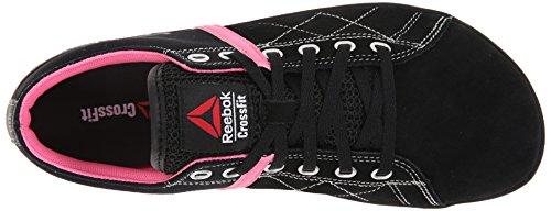 Scarpe Reebok Crossfit Lite Lo Tr Formazione Black/Electro Pink/Steel